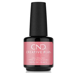 """Creative Play GEL Polish #528 Pink Intensity """"Bright Outs"""" (15ml) 0.5 oz CND"""