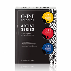 GelColor Artist Series Trio #1 Primary Colors Kit ( yellow,red,blue) OPI