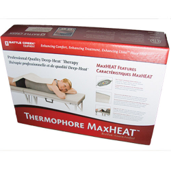 """Thermophore MaxHeat 14"""" x 27"""" hands free timer switch"""