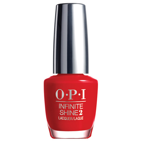 Infinite Shine Unequivocally Crimson Gel Effects Lacquer 1/2 oz OPI