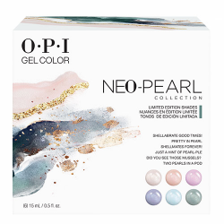 """Gelcolor 6 pc add on kit #1 """"Neo Pearl"""" 1/2oz OPI"""