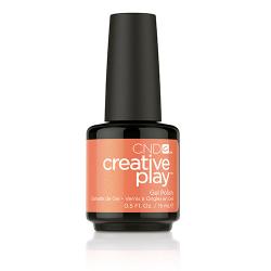 Creative Play GEL Polish #421 Orange You Curious (15ml) 0.5 oz CND disc