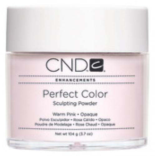 Perfect Warm Pink Opaque Powder 3.7oz CND