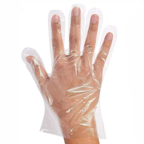 Disposable Gloves Transparent 100pc/bag