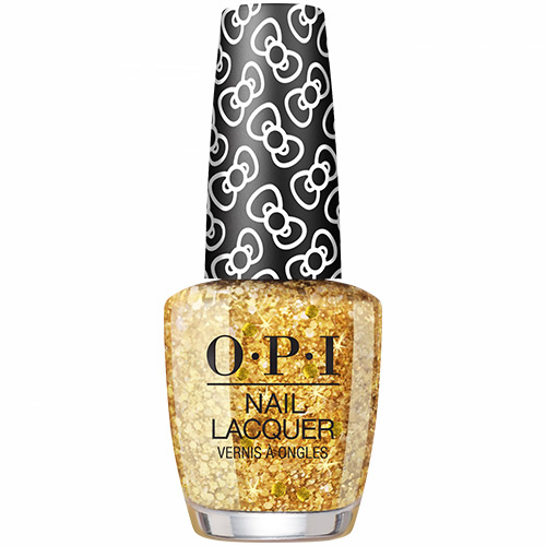 """Glitter all the Way """"Hello Kitty 2019"""" (Glitter Shade) 1/2 oz  Lacquer OPI"""