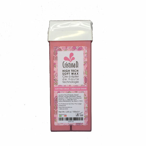 Roll On High Tech SOFT PINK CREAM WAX 100ml (Sensitive) Cristina D