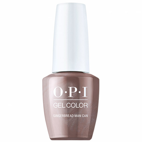 """GelColor - Gingerbread Man Can """"Shine Bright Holiday 2020"""" 1/2oz OPI"""