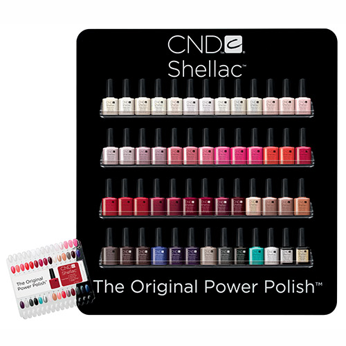 Shellac Hybrid Nail Color Cnd Intercosmetics