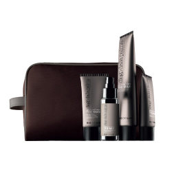 The Man Retail Kit : after shave,antiage cream,soft beard oil free Pouchette