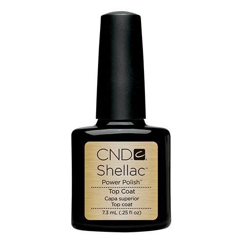 Top Coat Shellac .25 oz (7.3ml) CND small size