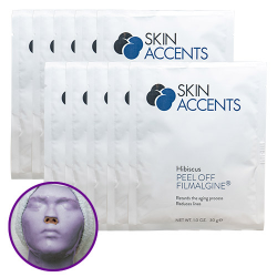 Hibiscus Peptide Alginate Peel Off Powder Mask (each) 30gr Skin Accents