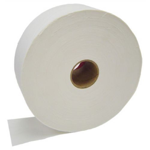 "Cotton Roll Bleached 3"" x 100 Yards (hard finish)"