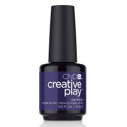 "Creative Play GEL Polish #511 Stylish Sapphire ""Wonderball"" 0.5 oz CND disc"