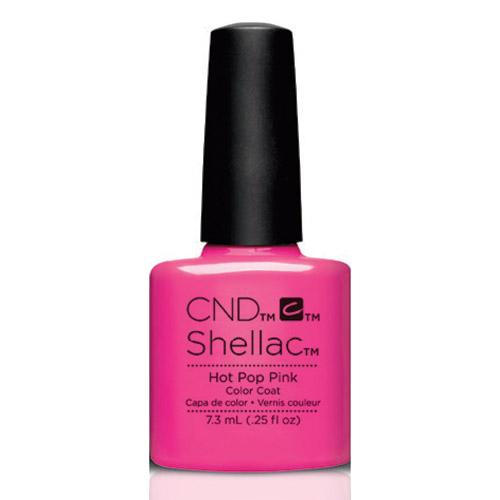 Hot Pop Pink Shellac 1/4oz (7.3ml) CND