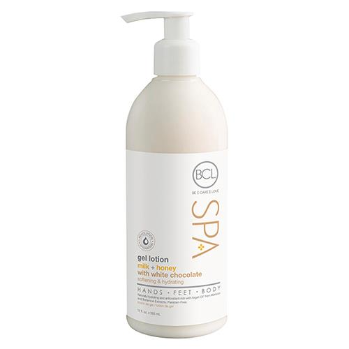 Milk & Honey with White Chocolate, Gel Lotion 12 oz - BCL Spa
