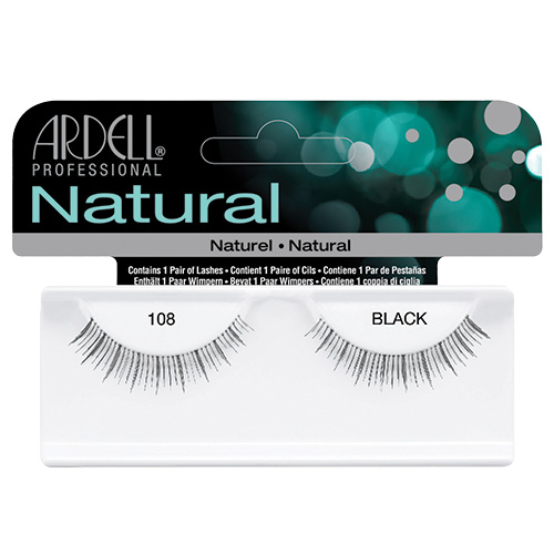 Natural Lash #108 Black Ardell Professional